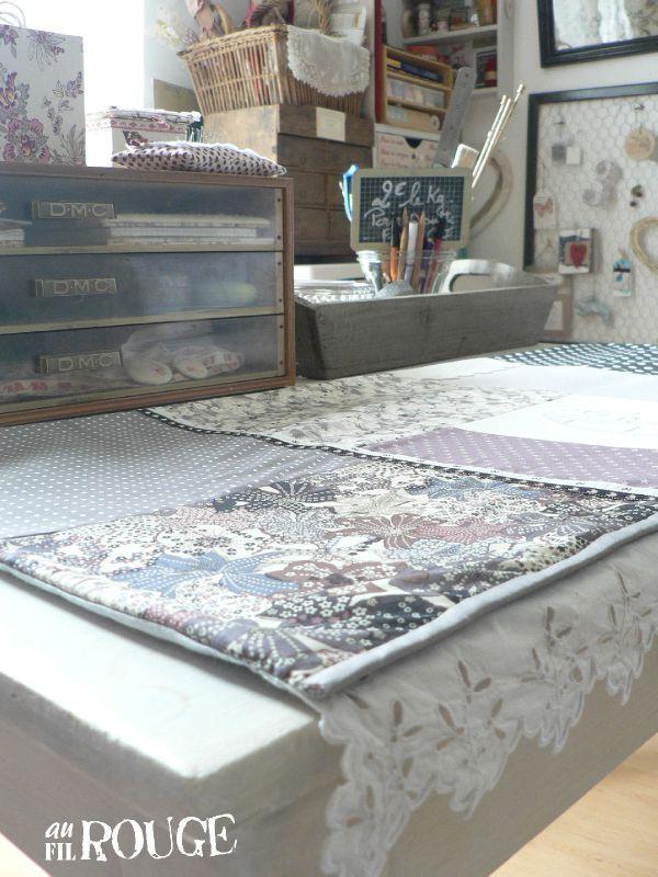 tapis machine à coudre