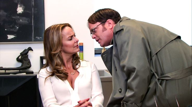 Jan Levinson and Dwight
