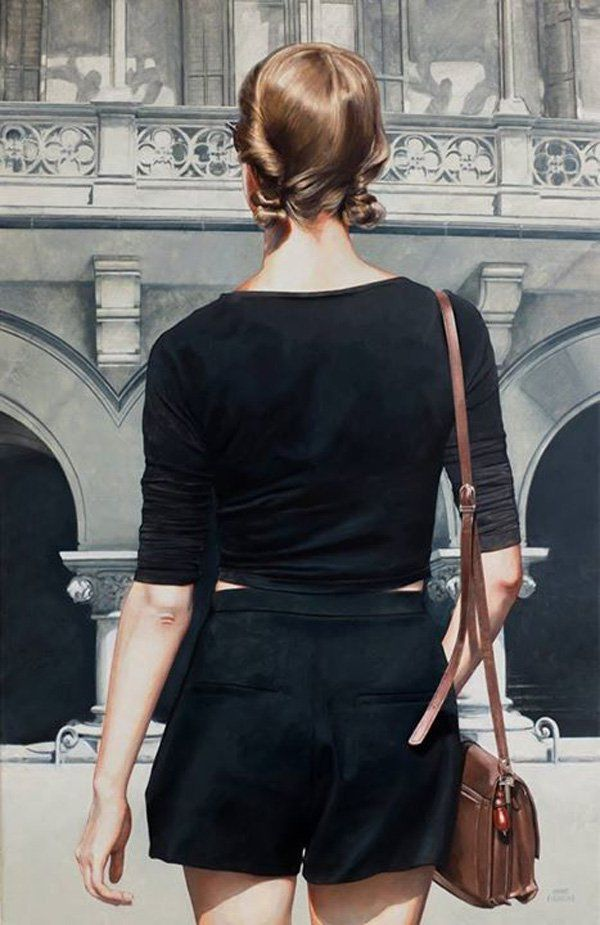 Marc Figueras-Echoes - Realistic Paintings by Marc Figueras