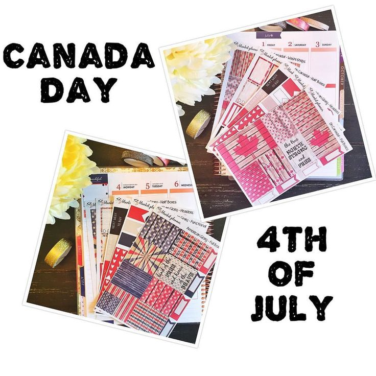 Have you ordered your Canada Day or 4th of July sticker kits yet?? Make sure to order them early so that you have them for the summer festivities! #planner #plannergirl #plannerstickers #plannergoodies #canadaday #4thofjuly #beach #floral #erincondren #eclp #lifeplanner #happyplanner #kikkik #filofax #stationary #journal #personalplanner #etsy #etsyshop #etsyseller #etsystickers #etsystore #newrelease #sneekpeek by blanketplanner