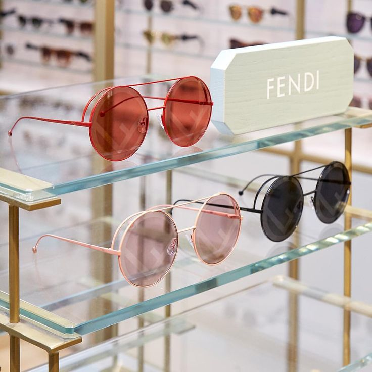 "613 Likes, 6 Comments - Liberty London (@libertylondon) on Instagram: ""New at Liberty: Infused with retro-futuristic appeal, the @Fendi Run Away sunglasses are the most…"""