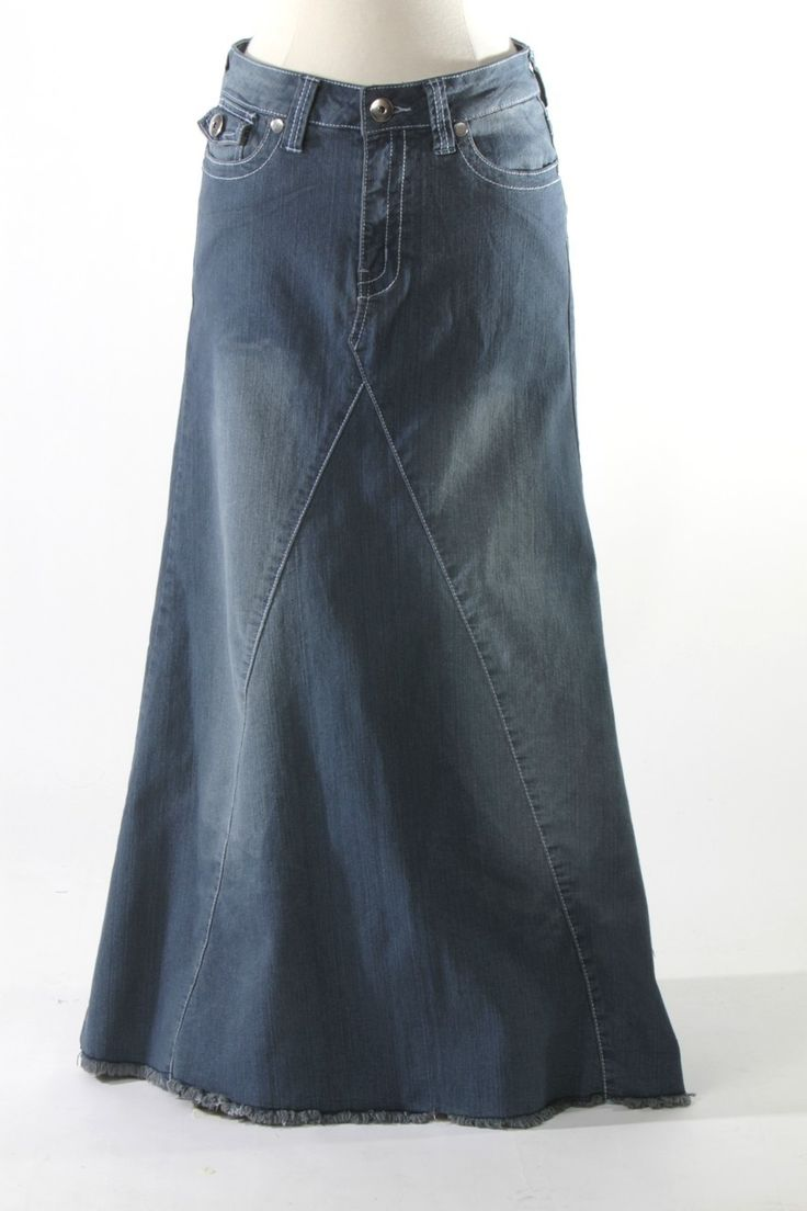 Need a denim skirt for winter
