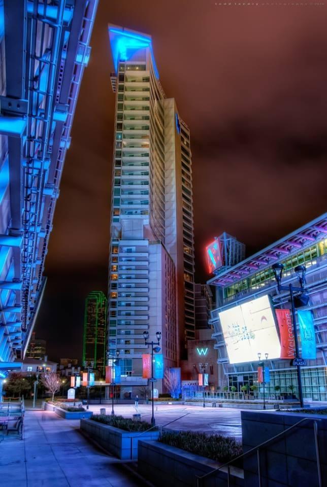 #Dallas #Texas #night #art