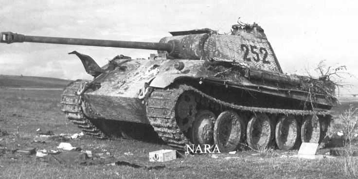 Axis WWII Discussion Group: Re: 11. Pz Div Panthers...probably a 2.SS Panther