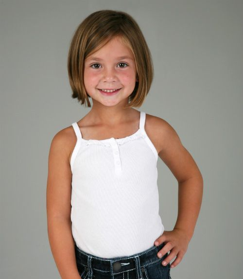 short hair children girls bob shoulder length - Google Search