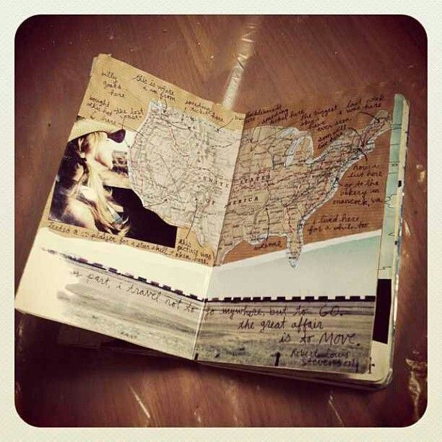 """""""Document your experiences ✒ #Travelersnote #Travelersnotebook #Journal…"""