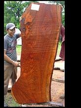 brazilian wood furniture. Jatoba, Brazilian Cherry Wood Slab Or Hardwood Lumber - For Built In Desk Furniture A