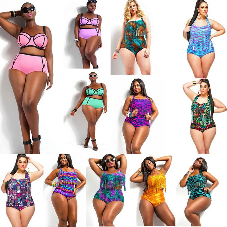 - Trendy plus size sexy bathing swimsuit for the modern fashionista - Beautiful all over print design - Great for the pool or beach - Made from nylon - Available in 12 colors