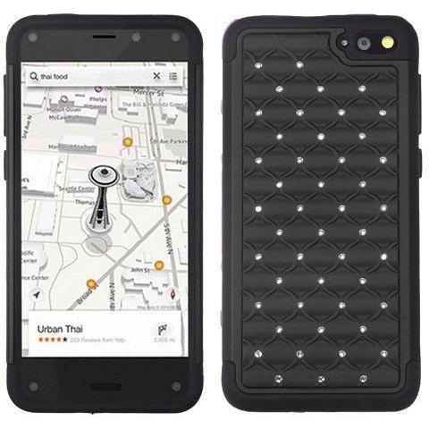 MYBAT Lattice Full-Star Case for Amazon Fire phone - Black/Black