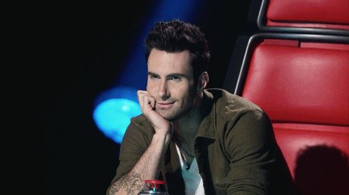 Pin for Later: 39 Hot Guys Who Prove 1 Little Wink Can Go a Long Way Adam Levine