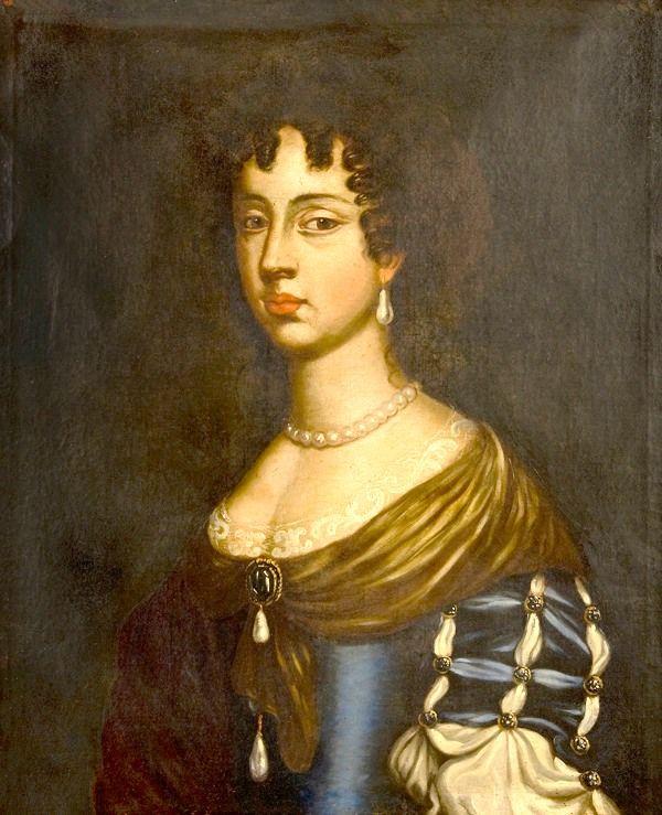 1685 Maria Beatrice d'Este, Regina d'Inghilterra, Scozia e Irlanda e Duchessa di Modena by ? (auctioned by Minerva Auctions)