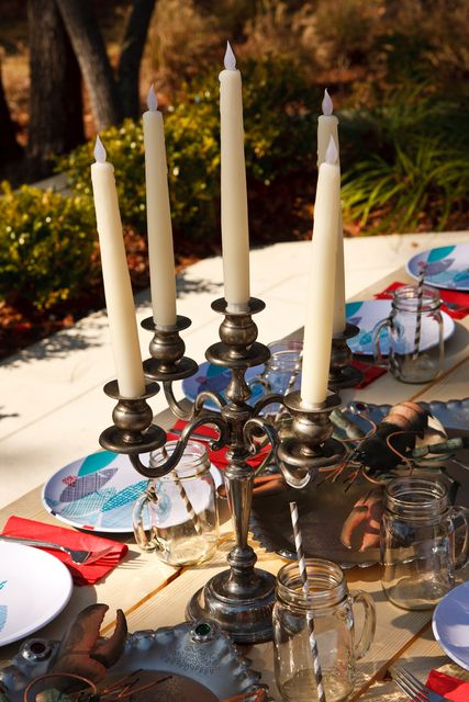 "candelabras aren't just for adults!  Photo 9 of 15: A'hoy Mateys Pirate Party / Birthday ""Preston Turns 5"""