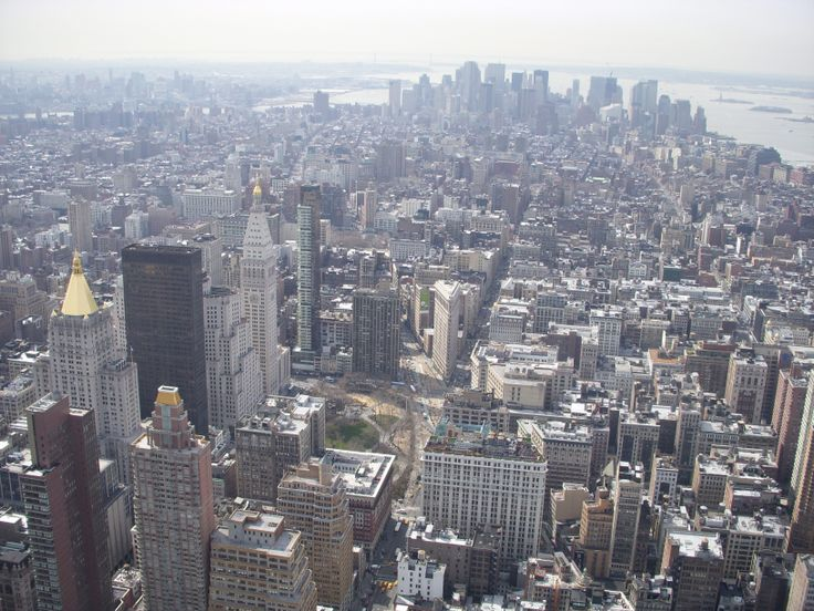 New York : Empire state building view
