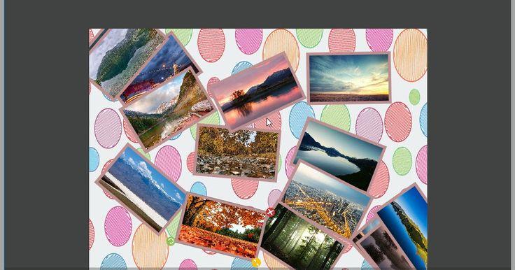 Το Collage Maker σας δίνει τη δυνατότητα να δημιουργήσετε μοναδικά σχεδιαγράμματα αναμειγνύοντας τις δικές σας φωτογραφίες να τις σώσετε στον υπολογιστή ή το κινητό σας και να τις μοιραστείτε με τους φίλους σας. Επιλέξτε φωτογραφίες από τη συλλογή σας και αμέσως τις δείτε σε κολάζ. Διαλέξτε τη διάταξη που σας αρέσει περισσότερο ή αναμίξτε τις με το χέρι όπως εσείς επιθυμείτε. Είναι ένας ισχυρός επεξεργαστής φωτογραφιών πλαισίων που θα σας βοηθήσει να δημιουργήσετε καταπληκτικά κολάζ…