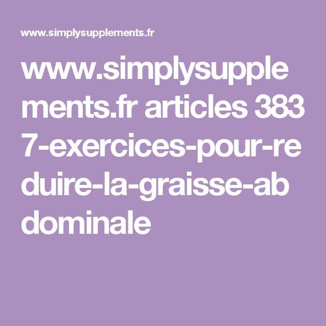 www.simplysupplements.fr articles 383 7-exercices-pour-reduire-la-graisse-abdominale