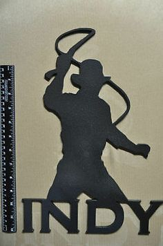 indiana jones raiders silhouette - Google Search