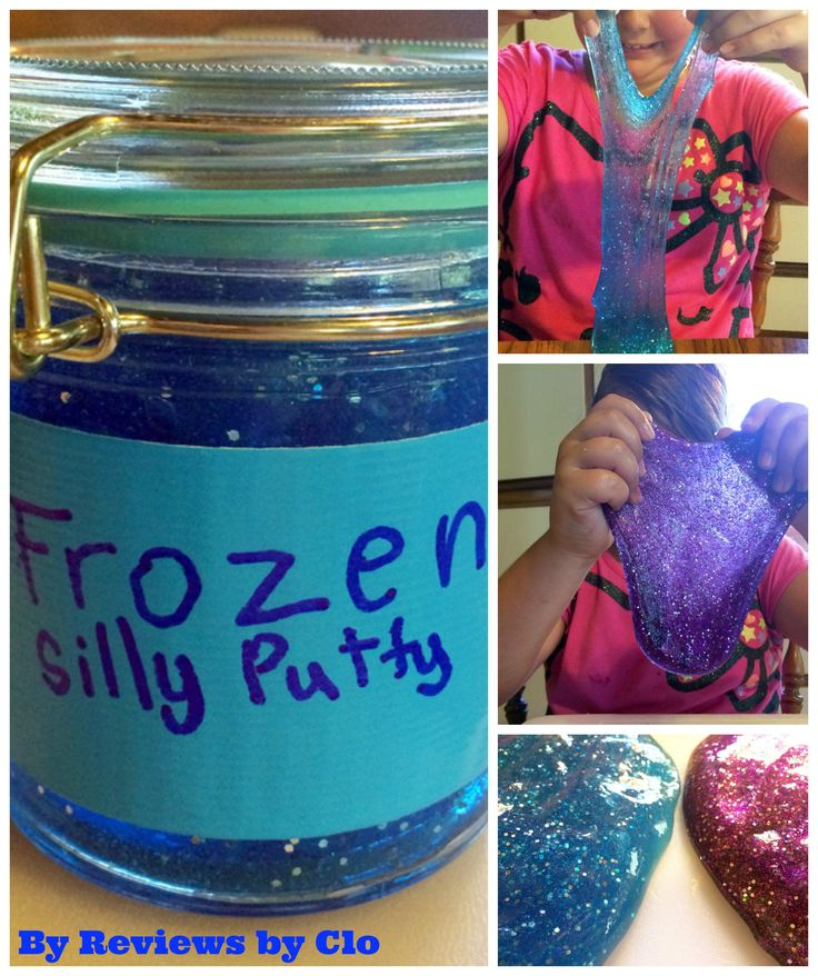 How many 'Frozen' fans do I have out there? Well, I have a little one that is quite the admirer to the movie. With summer in full swing we decided that for my second Kids Summer Activities we would teach you how to make 'Frozen' Silly Putty! It is a bunch of fun and it so easy to make! We have two tutorials for you: one for everyones favorite Elsa and another for Anna.