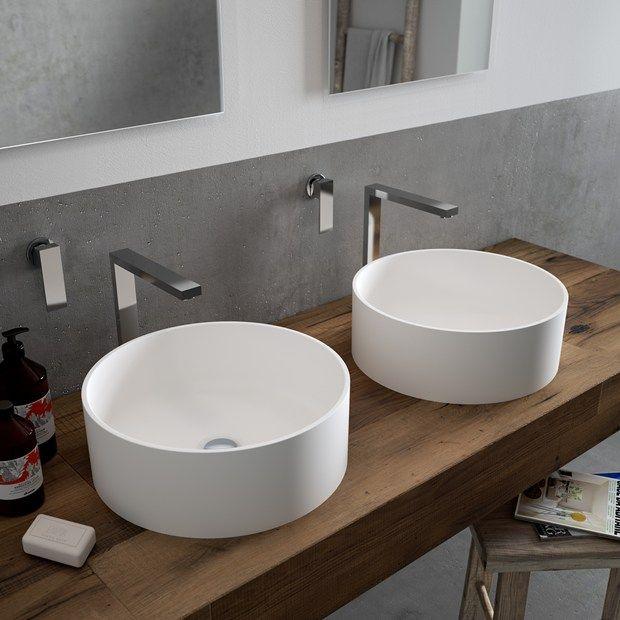 Tres Nuevos Lavabos En HI MACS® Que Realzan Cualquier Espacio De Baño