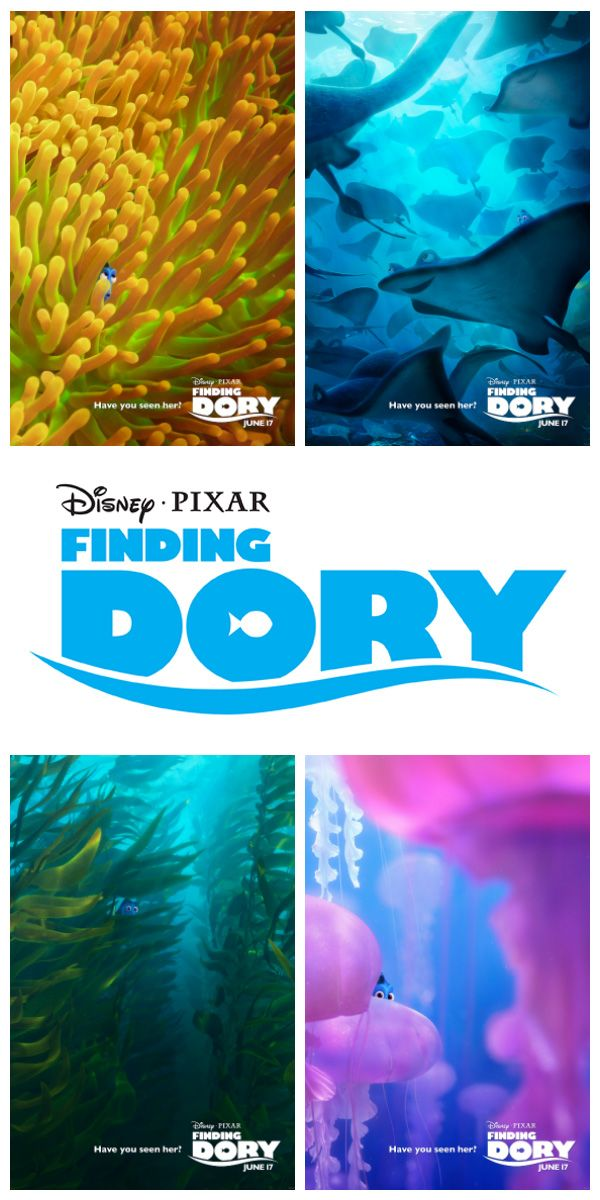 Disney/Pixar's Finding Dory movie trailer has been released – have you seen her??