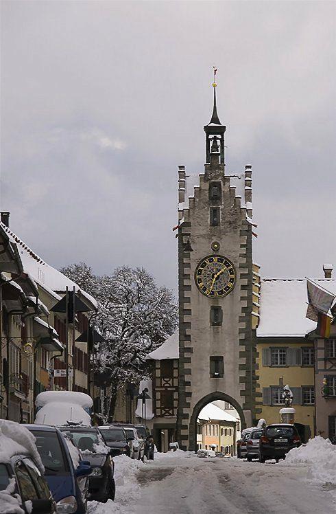Sigelturm in Diessenhofen, Canton of Thurgau, Switzerland | by Markus Zarn
