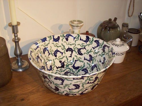 Emma Bridgewater FISH & WEED Salad bowl from the 1980's