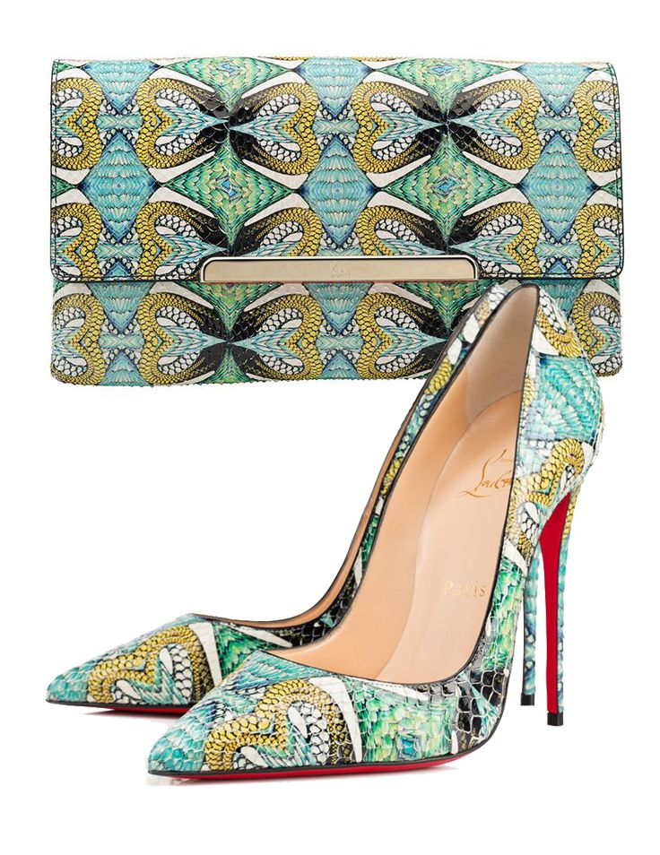 Christian Louboutin Shoes and Bag | christian loubouitn                                                                                                                                                     Más