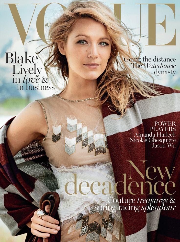 Blake Lively for Vogue Australia November 2014
