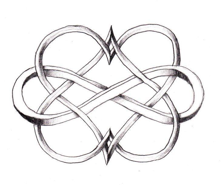 image of small celtic heart | SIMBOLO DO INFINITO