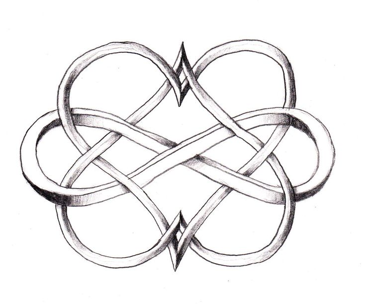 image of small celtic heart | SIMBOLO DO INFINITO