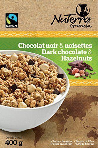 NuTerra Granola - pack of 3 - Fairtrade Cereal (Dark Chococate & Hazelnuts) NuTerra Granola http://www.amazon.com/dp/B00QSKPUTM/ref=cm_sw_r_pi_dp_6DeSub0CCJWB7  Now available in the Unites states via #AmazonPrime !!!  #cereal #breakfast #Amazon #Granola #DarkChocolate
