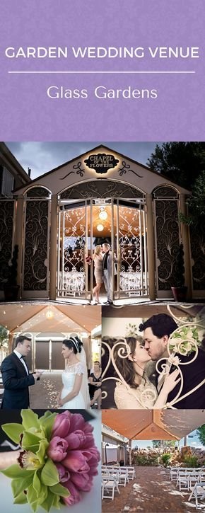 Garden Weddings at Chapel of the Flowers, historic Las Vegas Wedding Venue. This outdoor wedding venue has packages including flowers and photography starting $495 and all-inclusive wedding packages from $995.