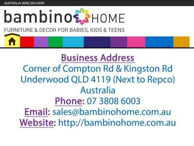Slideshare Presentation on Bambino Home - kids bunk beds with desk,kids bunk beds,bunk beds,bunk beds Australia,bunk beds for sale