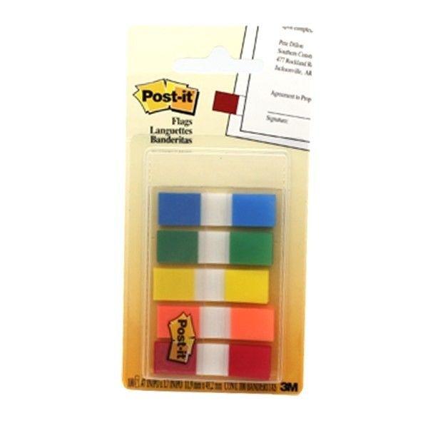 """Post-it 3M 683-5CF Small Size Flags 12 / clips (eceran) - di Jual Secara Online Kertas Memo Tempel dg Harga Murah  Mencari informasi dengan lebih cepat dengan Post-it® Flag.   Pembatas halaman berbahan film yang dapat di tulisi, lebih tahan lama.     (0.5"""" 20 sheets/color, 5 Fluorescent colors)  - Harga per Pack  http://tigaem.com/post-it/318-post-it-3m-683-5cf-small-size-flags-12-clips-eceran-di-jual-secara-online-kertas-memo-tempel-dg-harga-murah.html  #postit #notes #memo #flags #3M"""