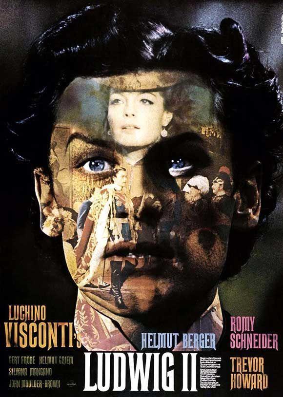 "337. ""Ludwig"" de Visconti avec Romy Schneider et Helmut Berger.1973"