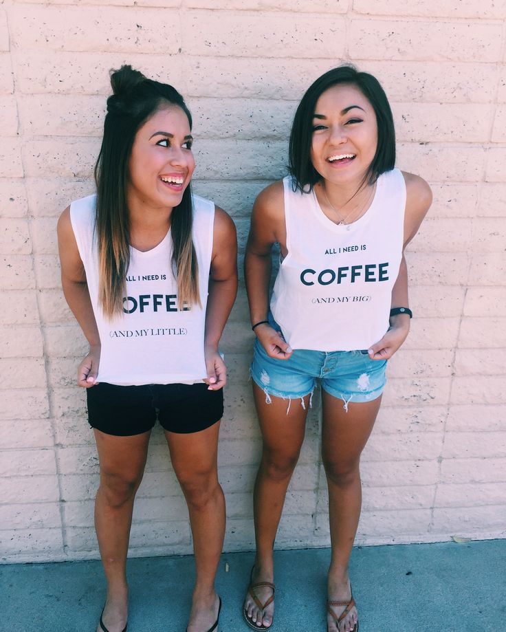 Coffee is an essential part to every sorority girls day, just ask these girls!