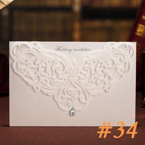 Amostra, Hot festa de aniversário convites de casamento cartão com selo do Envelope em Decoração de festa de Casa & jardim no AliExpress.com | Alibaba Group