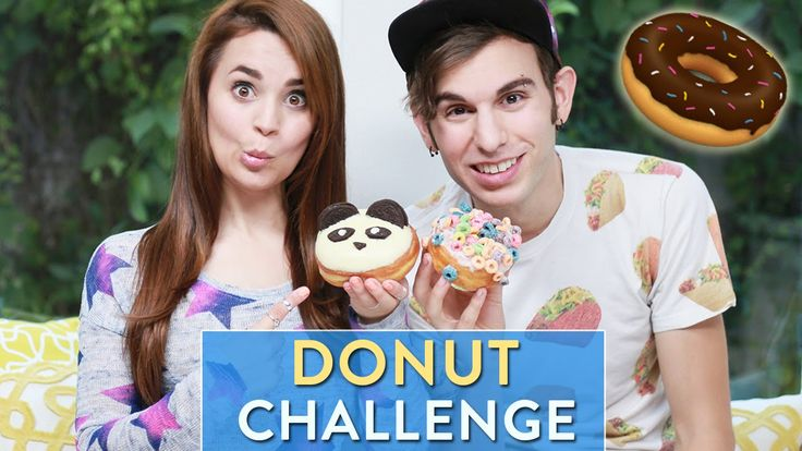 I got a lot of requests to do the Donut Challenge! Let me know down below what other videos you would like to see! *Order The Nerdy Nummies Cookbook here: ht...