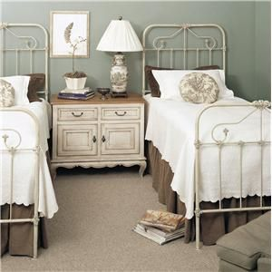 Custom Design Iron and Metal Beds Tearcey Metal Twin Bed by Old Biscayne Designs at Jacksonville Furniture Mart