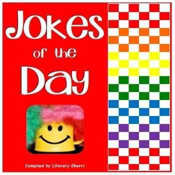 Jokes of the Day (405 School-Appropriate Jokes/Common Core