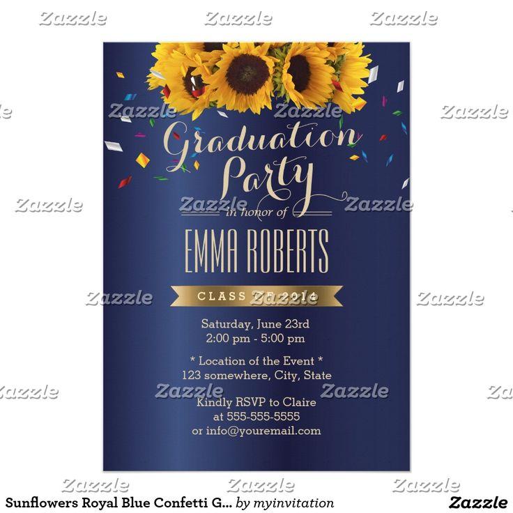 207 best Graduation Announcements Invitations images – Zazzle Graduation Invitations