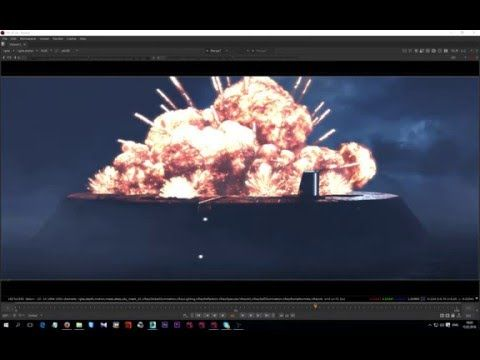 FumeFX 4.0 - VFX Simulations and Compositing in Nuke - English