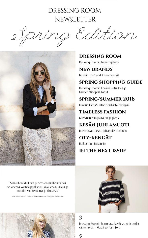 Dressing room Spring Edition