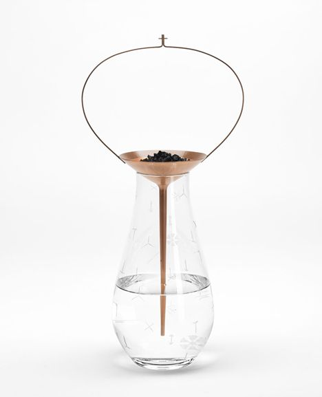 Formafantasma combines crystal and copper in water purification range