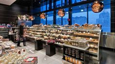 Pusateris gourmet store by GH+A Design, Toronto