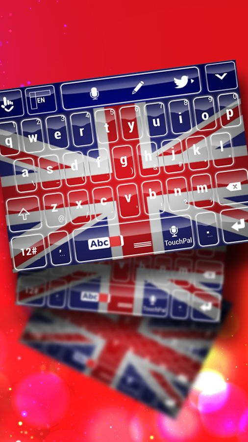 Try this awesome United Kingdom Keyboard!