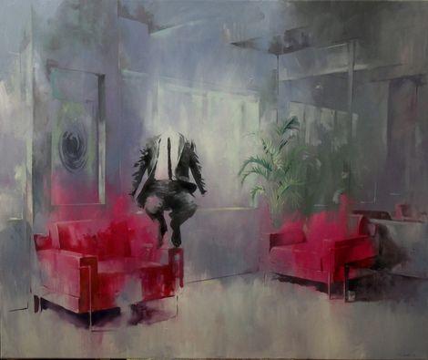 Szabolcs Szolnoki, The Hope,100x120cm, 2012