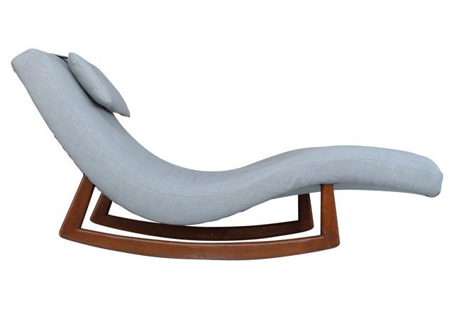9 best images about chaise lounger on pinterest for Chaise bercante antique