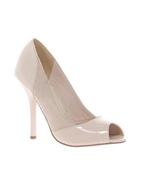 Image 1 ofASOS PEACHEY High Heels with Peep Toe