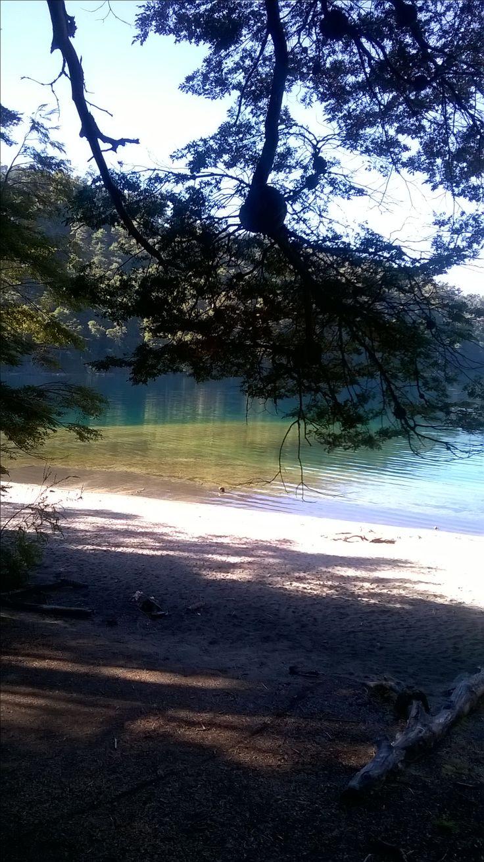 Lago Nahuel Huapi, brazo Ultima Esperanza, Villa La Angostura, Neuquen, Argentina