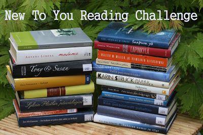 Ullan Luetut kirjat: New To You Reading Challenge